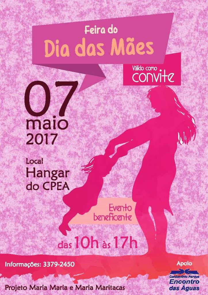 Convite Feira Mães CPEA